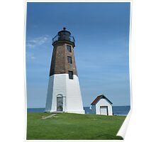 Point Judith Lighthouse Poster