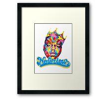 BIGGIE KING Framed Print