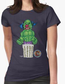 Evil Clown T Shirt Hulk Style Womens Fitted T-Shirt