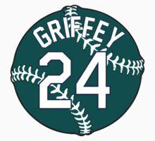 Ken Griffey, Jr. Baseball Design by canossagraphics