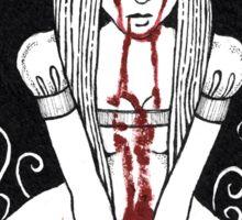 Blood Red Alice Tee Sticker