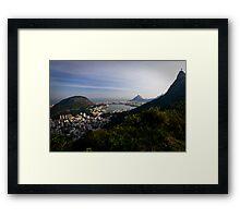 O Cristo Redentor, Rio De Janeiro, Brasil Framed Print