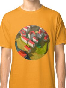 virtual model with red houses Classic T-Shirt