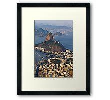 Sugarloaf Mountain, Rio De Janeiro, Brasil Framed Print