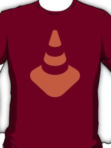 Traffic cone safety pylon Whitch hat marker T-Shirt
