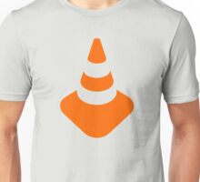 Traffic cone safety pylon Whitch hat marker Unisex T-Shirt