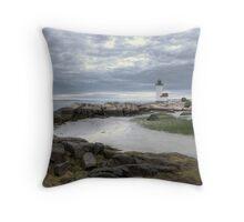 Annisquam Light - Gloucester, MA Throw Pillow