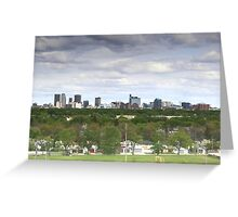 Winnipeg, Manitoba, Canada Greeting Card