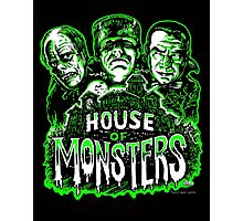 House of Monsters Photographic Print