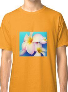 Frangipani Blue Heaven Classic T-Shirt