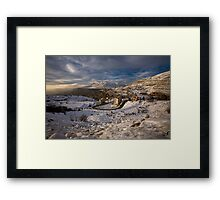 Faraya Mzaar Mountains, Lebanon Framed Print