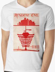 Resident Evil Mens V-Neck T-Shirt