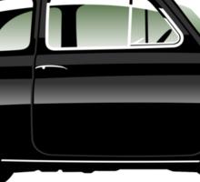 Classic Fiat 500F black Sticker
