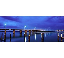 Blue Bridge Photographic Print