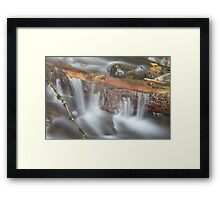 Below Horsetail Falls Framed Print