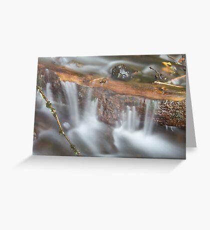 Below Horsetail Falls Greeting Card