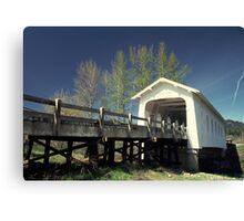 Bridge Grave Creek Canvas Print