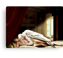 The Male Psyche Canvas Print