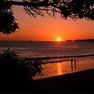 Sunset Stroll by Richard Stephan Bergquist