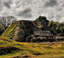 Altun Ha, Belize by Andreas Mueller