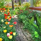 Pathway Through the Garden by Nadya Johnson