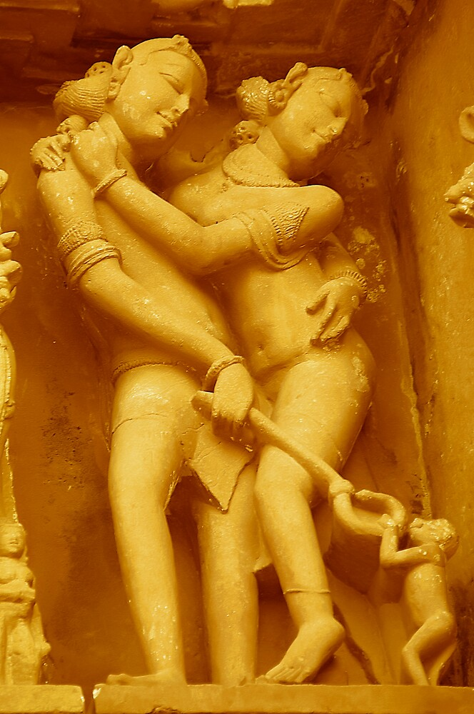 Erotic Art of Khajuraho#5 by Mukesh Srivastava