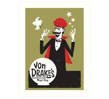 Von Drakes Magic Shop Art Print