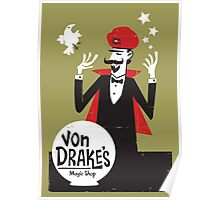 Von Drakes Magic Shop Poster