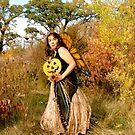 Prairie Fairy Ode to Milkweed by evon ski