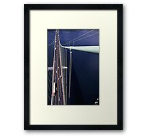 Top of the Narrows Framed Print
