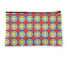 Yellow army stars Studio Pouch