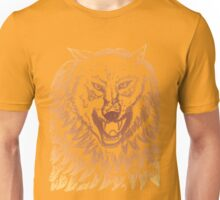 Abstract Wolf Sketch 3 Unisex T-Shirt