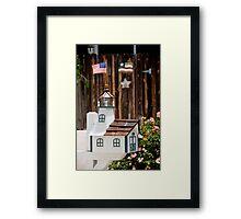 Patriot Mailbox Framed Print