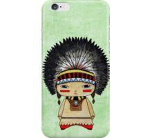 A Boy - Native American iPhone Case/Skin