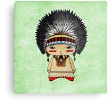 A Boy - Native American Metal Print