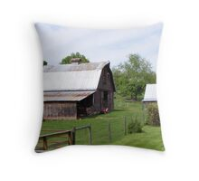 Barns Throw Pillow