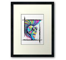 PUNKED Framed Print
