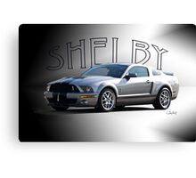 2009 Ford Mustang 'by Shelby' Canvas Print