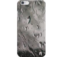 Storm passing looking through window 5th shot - April 29 iPhone Case/Skin