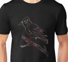Crow Sketch Unisex T-Shirt
