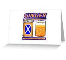 GINGER - GET IT DOON YE Greeting Card