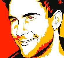 Adam levine Art Caricature by ReallityArtwork