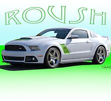 2014 Ford Mustang 'by Roush' by DaveKoontz