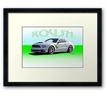 2014 Ford Mustang 'by Roush' Framed Print