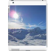 Beautiful Sky Over Mountain iPad Case/Skin