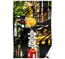 Which Way To Milano Poster
