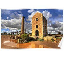 Moonta Mines -  Yorke  Peninsula  - South Australia Poster