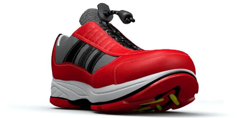 Red Shoe by Ganz