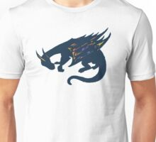 Color Burst Dragon Unisex T-Shirt