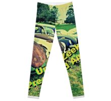 """Uncle Zeek's Preowned Auto Lot""... prints and products Leggings"